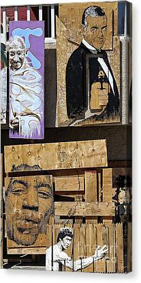 Beach Hop Canvas Print - Gandhi Bond Jimmy Lee by Chuck Kuhn