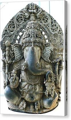 Ganesha Canvas Print by James Mancini Heath