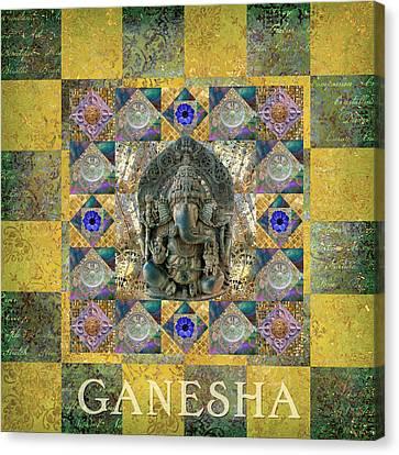 Ganesha Transcendence Canvas Print by Susan Ragsdale