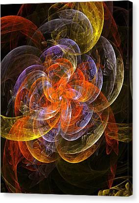 Garden Flowers Canvas Print by Steve K