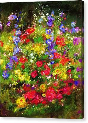 Garden In New Jersey Canvas Print