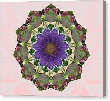 Garden Mandala... Canvas Print by Rene Crystal