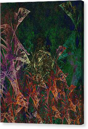Garden Of Color Canvas Print by Christopher Gaston