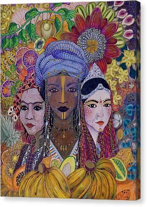 Garden Of Eden - No More Hunger Canvas Print
