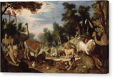 Garden Of Eden Canvas Print by Jacob Bouttats