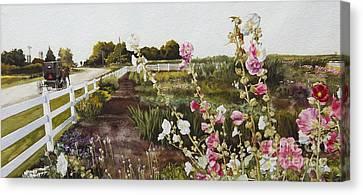 Garden Of Edith Canvas Print