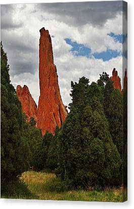 Garden Of The Gods - A Breathtaking Natural Wonder Canvas Print by Christine Till