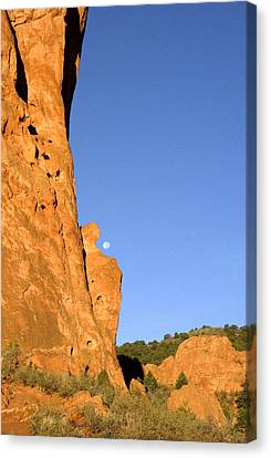 Garden Of The Gods Sunrise Co. Canvas Print by James Steele