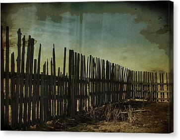 Garden Of Thirst  Canvas Print by Empty Wall
