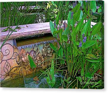 Garden Pond Canvas Print