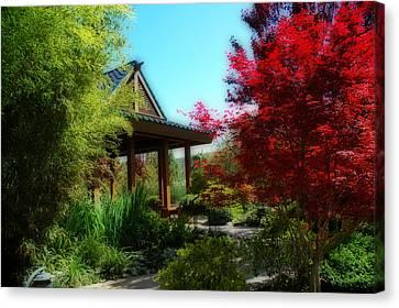 Garden Retreat Canvas Print by Lynn Bauer