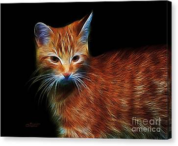 Garfield Canvas Print by Jutta Maria Pusl