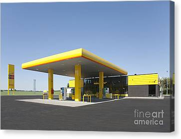 Gas Station Canvas Print by Jaak Nilson