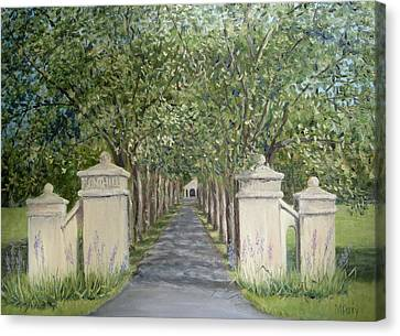 Gateway To Fonthill Canvas Print