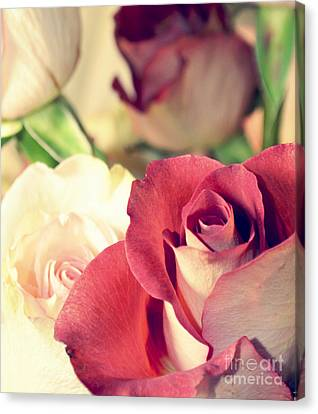 Canvas Print featuring the photograph Gather Beauty by Robin Dickinson