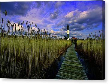 Gathering Clouds Canvas Print by Rick Berk