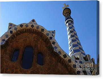 Gaudi Architecture Canvas Print by Bob Christopher