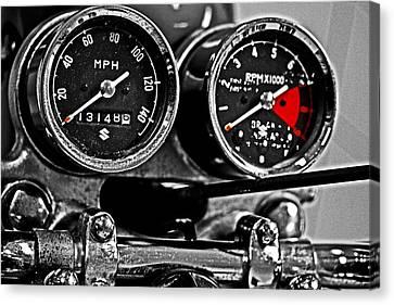Gauging Speed Canvas Print by Tom Gari Gallery-Three-Photography