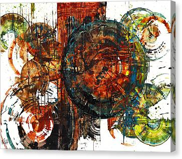 Gaurdian  02.101511 Canvas Print by Kris Haas