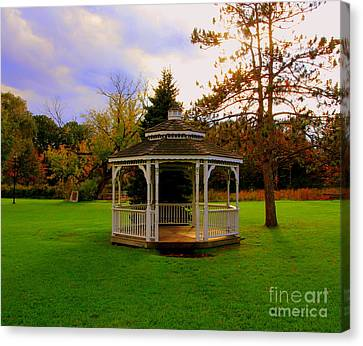 Gazebo Canvas Print