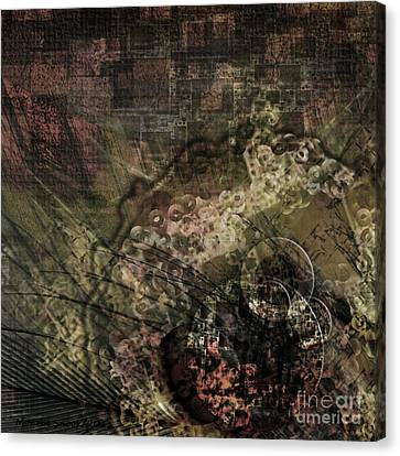 Geared-up Canvas Print by Monroe Snook