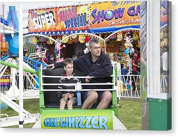 Gee Whizzer Canvas Print by Lee Stickels