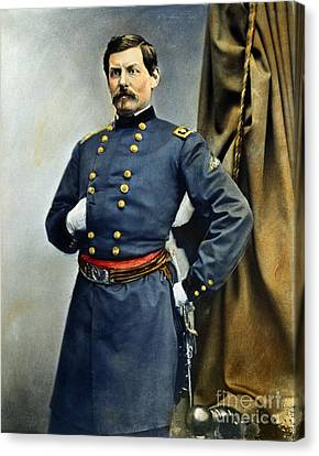 General George Mcclellan Canvas Print by Granger