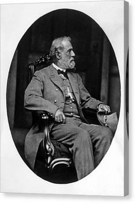 General Robert E. Lee 1807-1870 Canvas Print by Everett