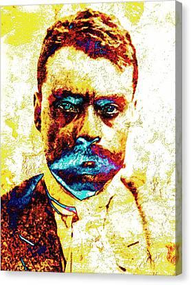 General Zapata Canvas Print