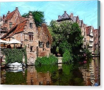 Gent Canvas Print by Steve K