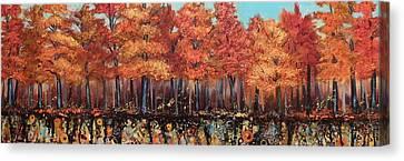 Gentle Autumn Breeze Canvas Print by Tammy Watt