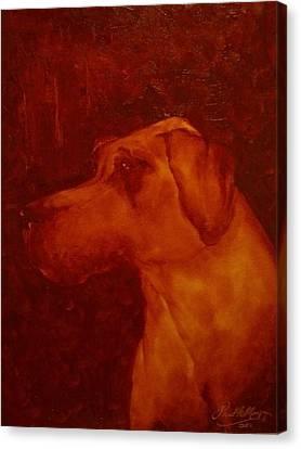 Gentle Giant Canvas Print by Paul Morgan
