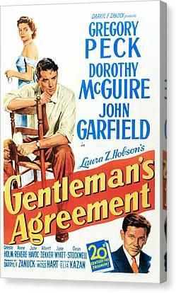 Gentlemans Agreement, Dorothy Mcguire Canvas Print by Everett