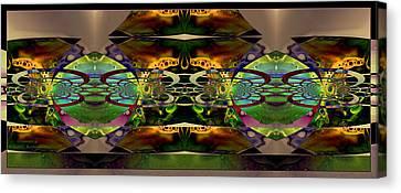Geometrica Canvas Print by Robert Kernodle