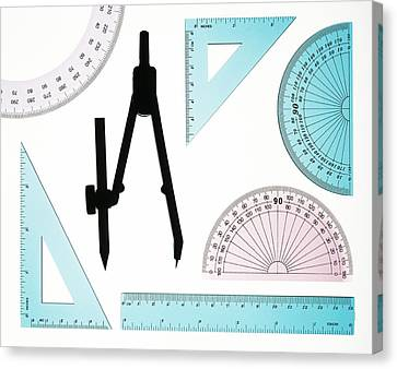 Geometry Set Canvas Print by Lawrence Lawry