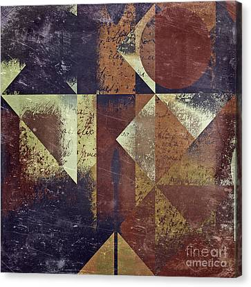 Geomix 04 - 6ac8bv2t7c Canvas Print by Variance Collections
