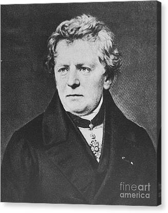 Georg Ohm, German Physicist Canvas Print by Science Source