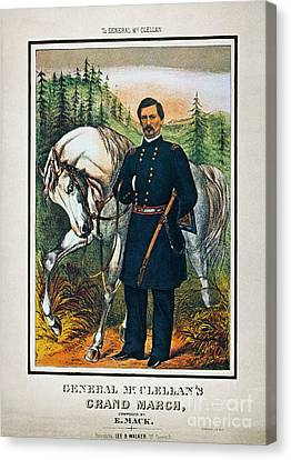 George B. Mcclellan, 1864 Canvas Print by Granger