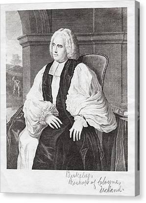 George Berkeley, Irish Philosopher Canvas Print by Humanities & Social Sciences Librarynew York Public Library