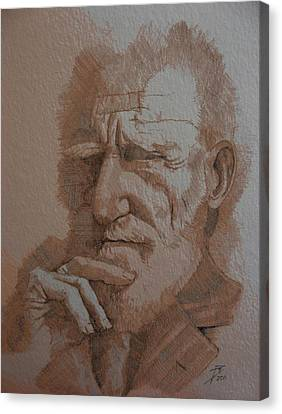 George Bernard Shaw Canvas Print by Ray Agius