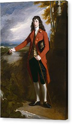 George Boone Roupell Canvas Print by John Singleton Copley