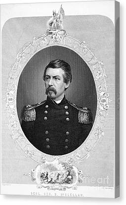 George Brinton Mcclellan Canvas Print by Granger