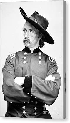 George Custer, American Calvary Officer Canvas Print by Photo Researchers