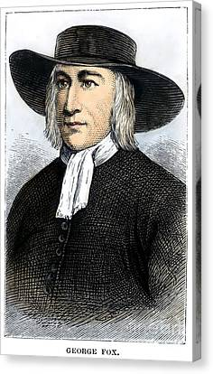 George Fox (1624-1691) Canvas Print by Granger