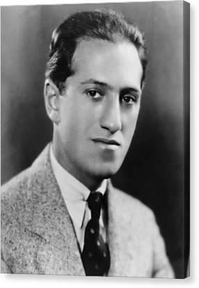 Gershwin Canvas Print - George Gershwin 1898-1937 American by Everett