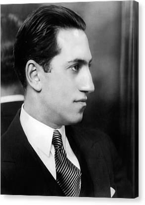 Gershwin Canvas Print - George Gershwin, Circa 1927 by Everett