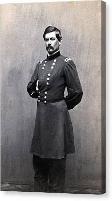 George Mcclellan 1826-1885 In 1861 When Canvas Print by Everett