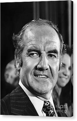 George Mcgovern (1922- ) Canvas Print by Granger