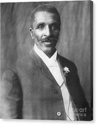 George W. Carver, African-american Canvas Print by Science Source