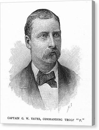 George W. Yates (d.1876) Canvas Print